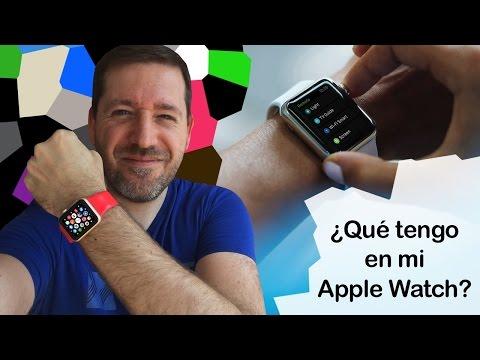 ¿Qué apps tengo en mi Apple Watch?