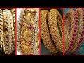 Latest Top 50 Designer Gold Bangles Designs | Bridal Wear Gold jewellery