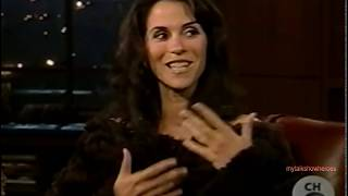 JAMI GERTZ has FUN with FERGUSON
