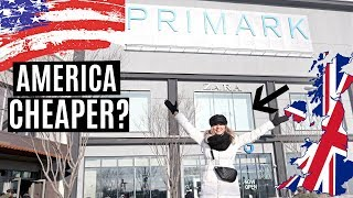 SHOPPING IN AMERICAN PRIMARK STORE (NYC) / *ANY DIFFERENT?*