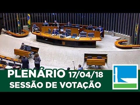 PLENÁRIO - Sessão Deliberativa - 17/04/2018 - 14:00