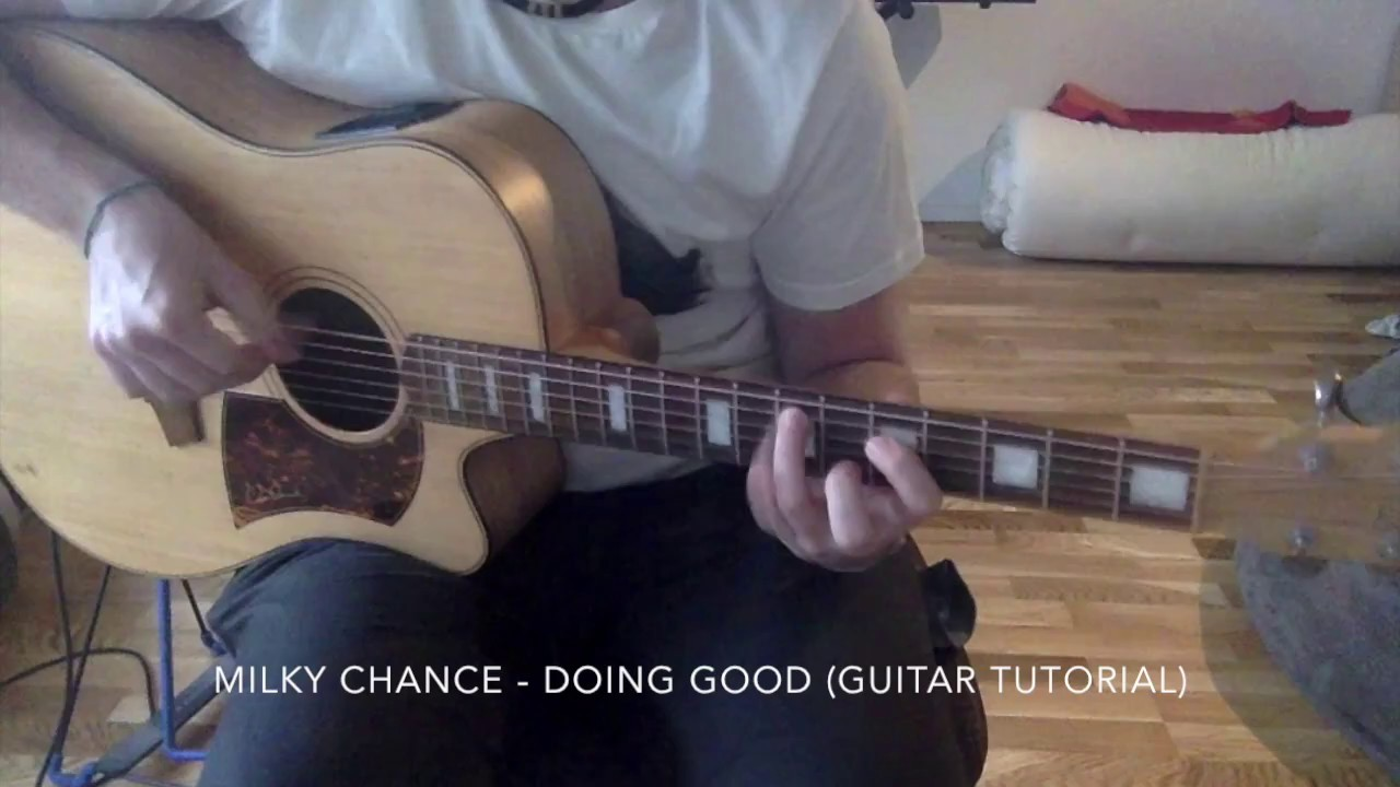 how to play running by milky chance on guitar
