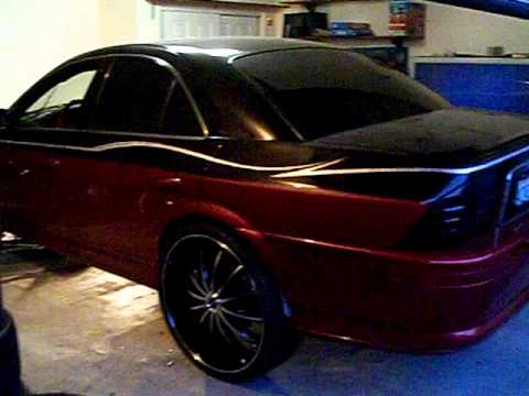 HEAVY WEIGHT LINCOLN LS ON 24S PT2 BY HULK KUSTOMS  YouTube