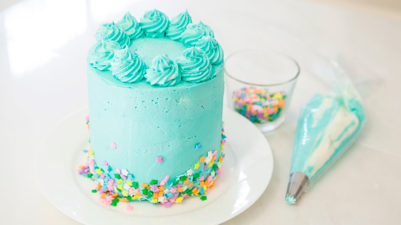 Funfetti Mini Cake Youtube