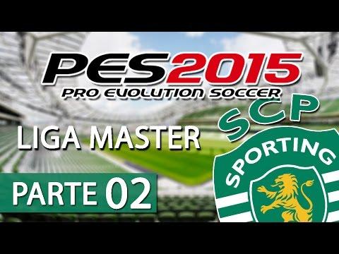 A jogar: PES 2015 - Liga Master #2 Liga e Play-off