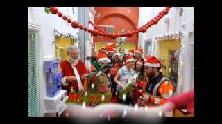 Irish Coast Guard, Howth & Blood Bikes, East - Santa Run Temple Street 2013