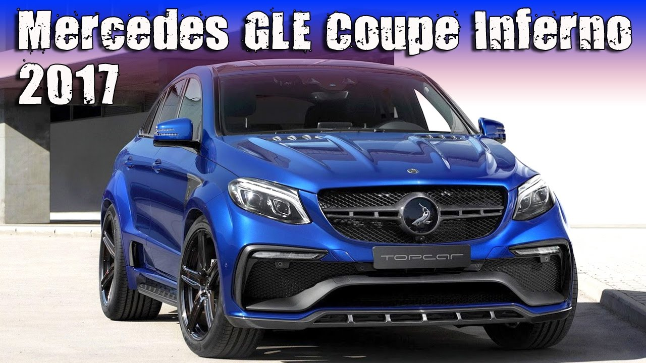 Russian Tuning 2017 Mercedes GLE Coupe Inferno Blue Gem