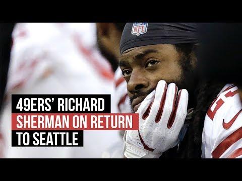 49ers' Richard Sherman on return to Seattle in NFL Week 13 loss