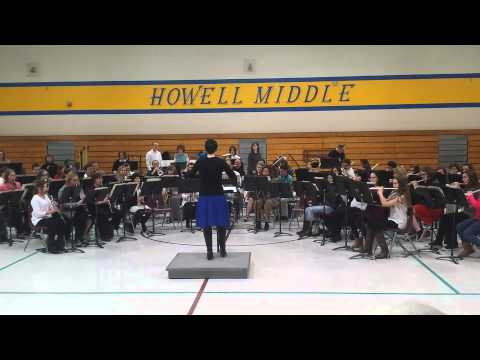 Friends and Family Band at Francis Howell Middle School, Feb 27th, 2015
