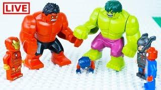 - LEGO Superheroes LIVE  STOP MOTION LEGO Hulk Ultimate Rage LEGO Hulk By Billy Bricks