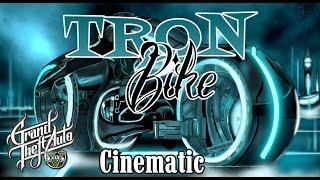 Tron Bike Cinematic Short Film - GTA V Online PS4 - Jonesy_RDNR
