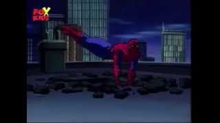 Spiderman the Animated Series - SPIDERMAN vs BANK ROBBERS