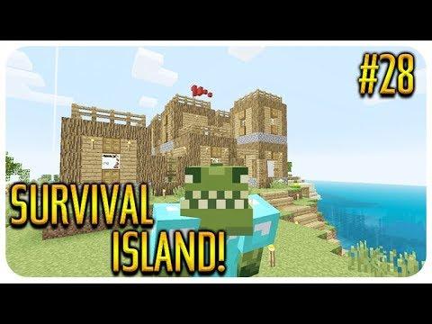 ✅ MINECRAFT - SURVIVAL ISLAND - REDSTONE BUILDING! Episode 28 thumbnail
