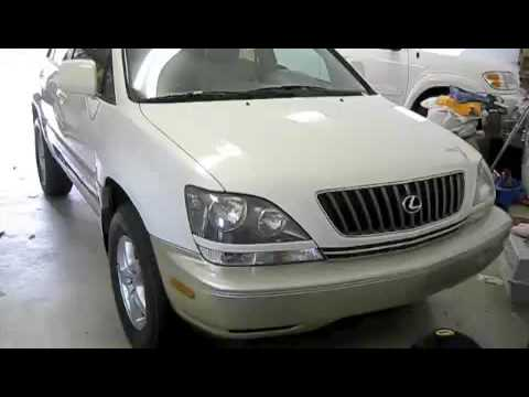 2001 lexus rx300 battery replacement