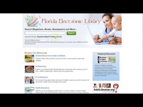 Public Library Resources Online Part 2