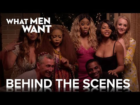 WHAT MEN WANT | Behind the Scenes with Tamala Jones and ...