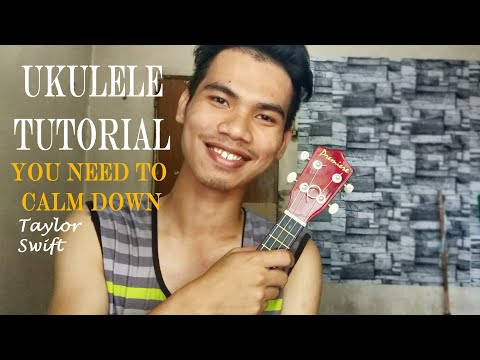 You Need To Calm Down - Taylor Swift UKULELE TUTORIAL (Easy) thumbnail