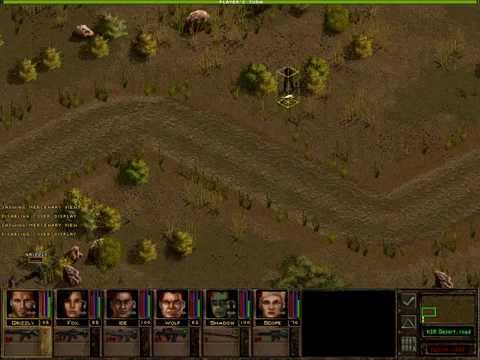 Let's Play Jagged Alliance 2 1.13, Part 083 - K9/10 - A rough ride