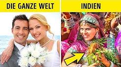 12 verrückte Hochzeitsbräuche aus aller Welt