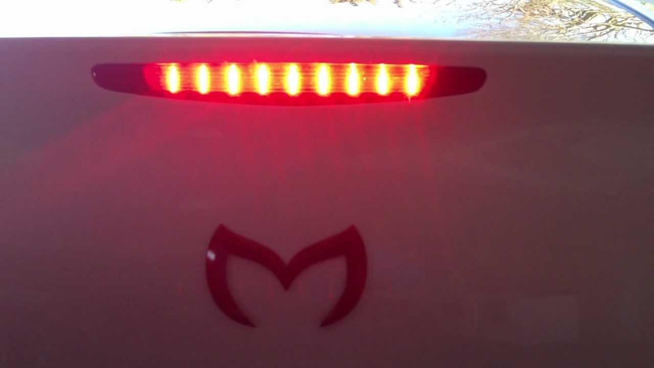 2012 Mazda 3 Flashing Third Brake Light MOV