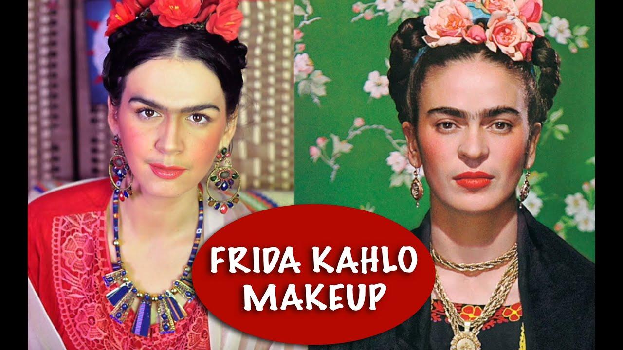 Frida Kahlo Makeup Tutorial Halloween