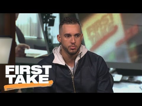 [FULL] 2017 World Series MVP George Springer interview on First Take | First Take | ESPN