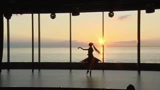 夕陽とバレエ Emi Hariyama
