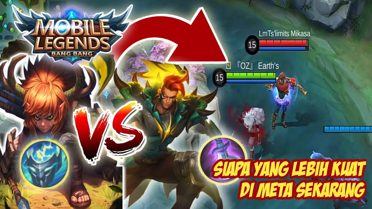 Popol dan Kupa Support VS Claude - Mobile Legends