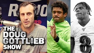Lamar Jackson WILL Win It BUT Russell Wilson is the REAL MVP - Doug Gottlieb