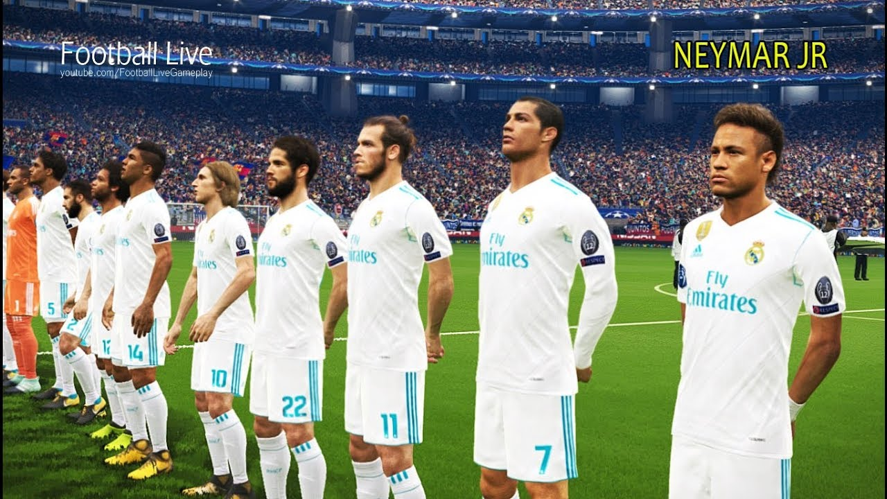 Neymar going to real madrid barcelona vs real madrid free kick neymar going to real madrid barcelona vs real madrid free kick uefa champions league pes 2018 stopboris Image collections
