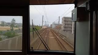 鹿児島本線 811系 快速 クモハ810-6 全面展望&走行音 吉塚~千早