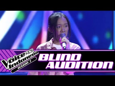 Angel - Issues   Blind Auditions   The Voice Kids Indonesia Season 3 GTV 2018