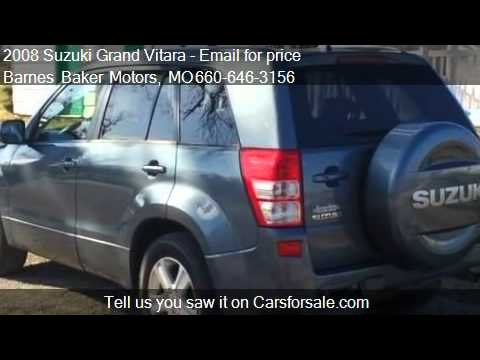 2008 suzuki grand vitara 4wd automatic luxury for sale for Barnes baker motors chillicothe missouri