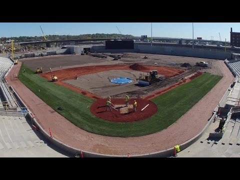 CHS Field Turf Installation