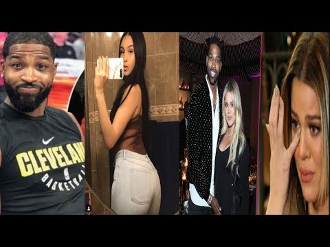 Tristan Thompson's gets caught cheating on Khloe Kardashian+ Now The Side Chick says she's PREGNANT