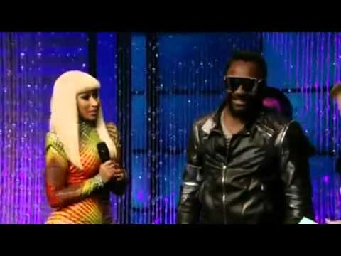 Nicki Minaj - Check It Out (Live at Regis and Kelly)(Ft. Will.I.Am)