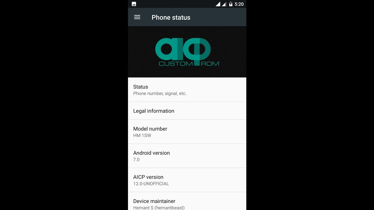Android Nougat 7 0 in Redmi 1S -AOSP ROM -Working Smoothly