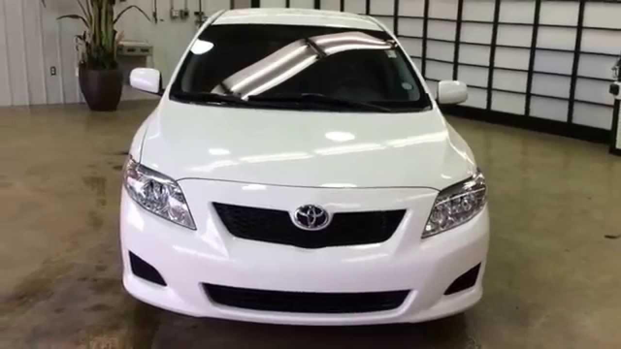 2010 Corolla Toyota Le White