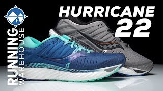 Saucony Hurricane 22 First Look | Soft and Luxurious Stability