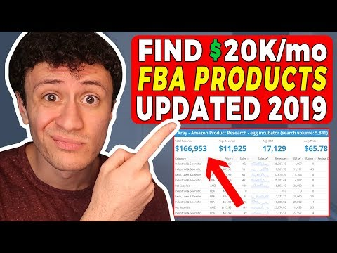 New INSANE PRODUCT RESEARCH Method For Amazon FBA In 2019