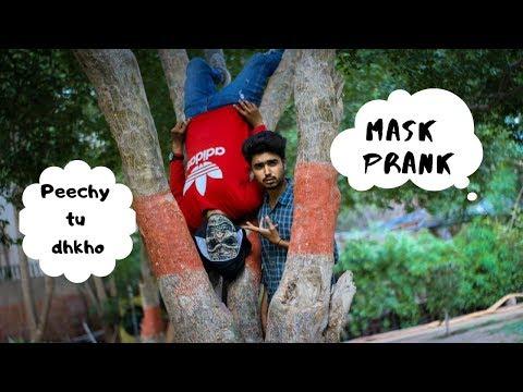 Mask Prank ||By Osama Malik ||2019