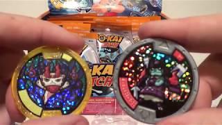 Series 4 Yokai Medal Unbagging with QR Codes 1