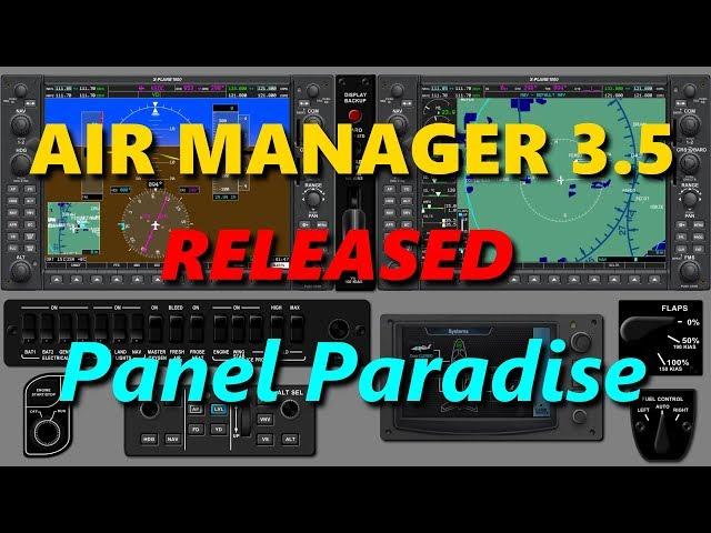 Air Manager 3.5 Sim Panel Paradise
