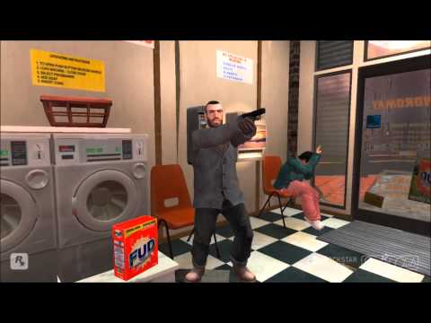 GRAND THEFT AUTO IV  HITMAN ABSOLUTION 1080p