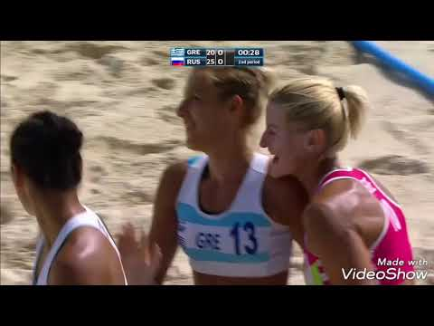 Apostolina Dimitri - IHF Women's Beach Handball Champions 2018!