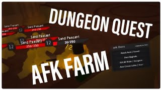 [EZ WIN + AFK FARM] Roblox Dungeon Quest Script GUI | Roblox Exploit