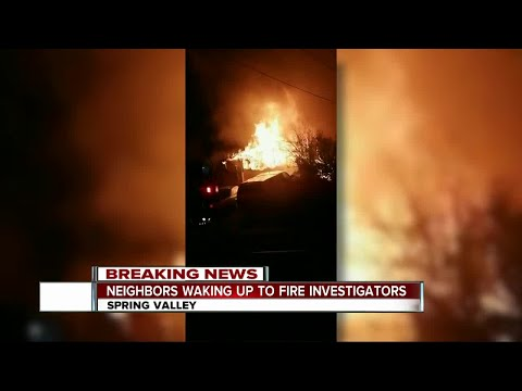 Fire burns Spring Valley home, 4 displaced