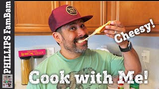 COOK WITH ME | EASY CHEESY GARLIC BREAD on CRUNCHY FRENCH ROLLS | PHILLIPS FamBam Cook with Me