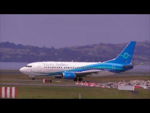 Nauru Airlines - Boeing 737 - Take Off - Auckland Intl. Airport