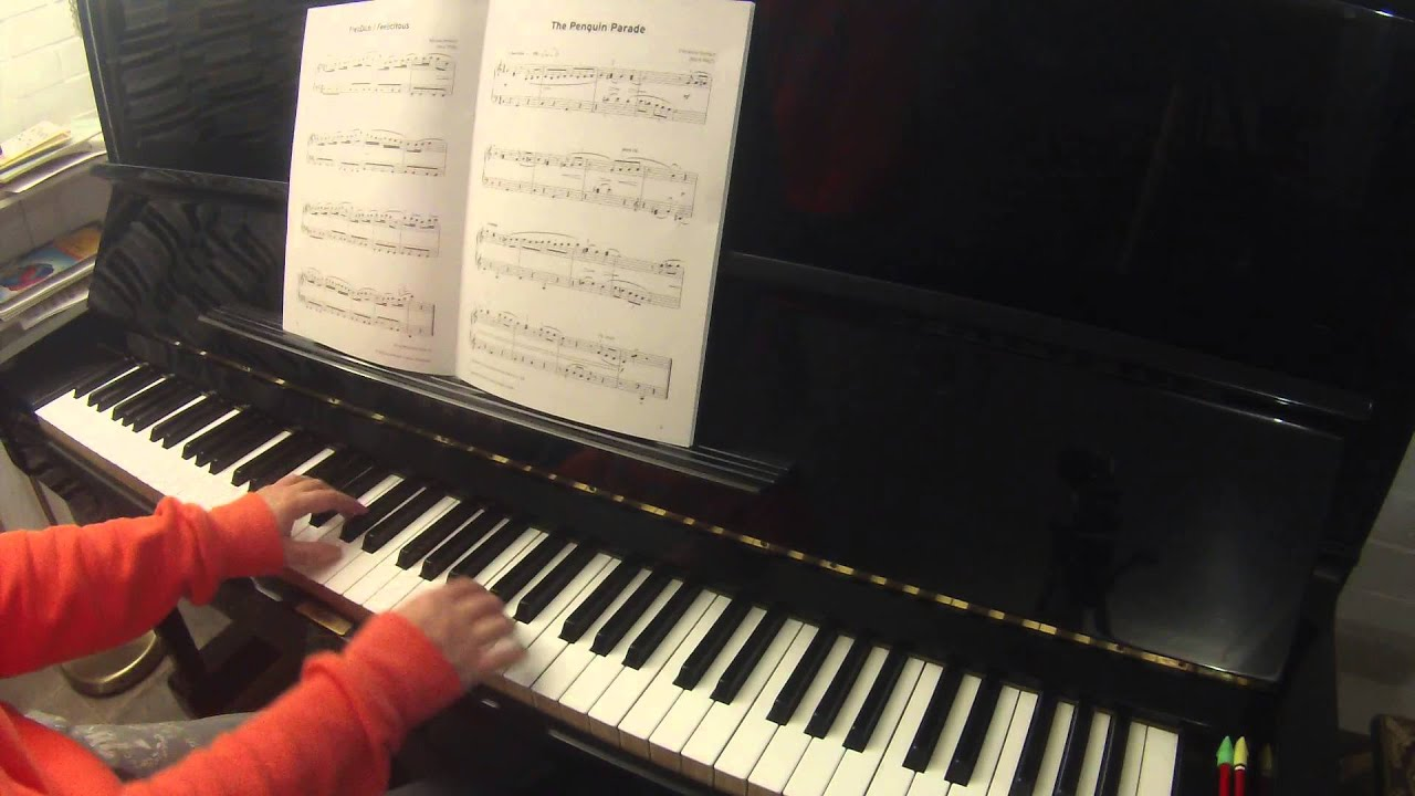 The Penguin Parade by Christine Donkin Trinity College London piano grade 2 2015-2017